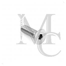 Śruba stożkowa DIN 7991 A2 M6x20, imbus