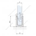 Profil FIXSG do montazu panela stałego