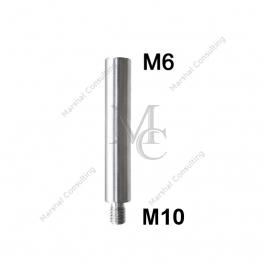 Łącznik dystansowy1106A268x14, M10/M6