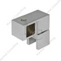 Łącznik boczny, przelotowy szkło - reling kwadratowy LBK2