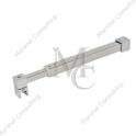 Stabilizator kwadratowy regulowany sciana - szkło, SKR1, 850 - 1000 mm