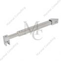 Stabilizator kwadratowy regulowany sciana - szkło 45˚, SKR2, 450 mm