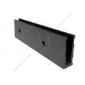 Profil bazowy boczny 1972D AL Black 120x48x2.5m
