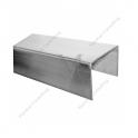 Profil zabezpieczający krawędź szkła U 1007 A222x16x2mm 2.5m