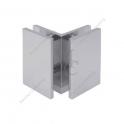 Klamra standardowa JHSC504, szkło - szkło  90°