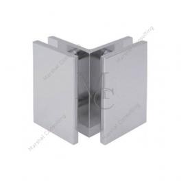 Klamra standardowa JHSC504 szkło - szkło 90°