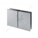 Klamra standardowa TGSC502 ,H72 mm,szkło - szkło 180°