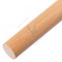 Pochwyt drewniany ADP Ø48 2,5m BUK surowy