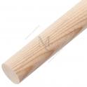 Pochwyt drewniany ADP 42J  Ø42 1mb JESION surowy