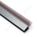Uszczelka na szkło DOE czarna 6-8 mm