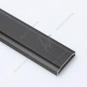 Szpros aluminiowy do konstrukcji szklanych,  2900 mm, Czarne